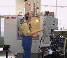 CNC gestützte Präzisions-Fräsmaschine